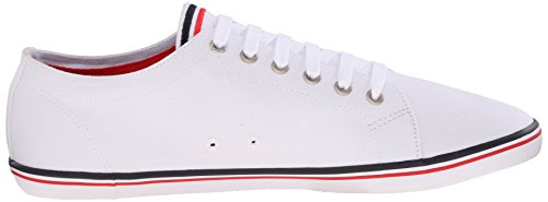 Fred Perry Kingston Twill White B6259U100, Herren Sneaker