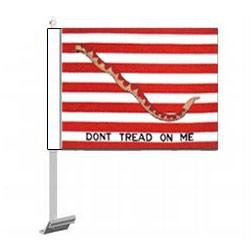 First Navy Jack Car Flag (11 in. x 15 in.) Ruffin Flag Company