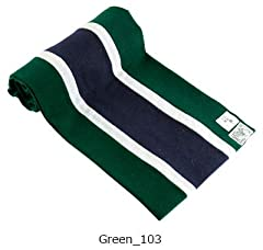 Wool Scarf: Green