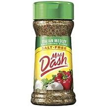 Mrs. Dash Italian Medley All Natural Salt Free Seasoning Blend (224493) 2 oz