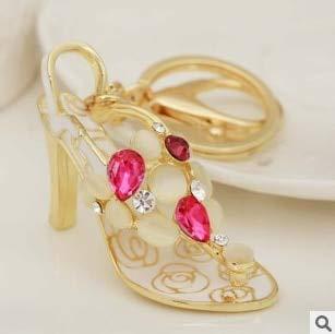 Amazon.com: Rarido Opal Pearl Crystal Enamel High Heels ...