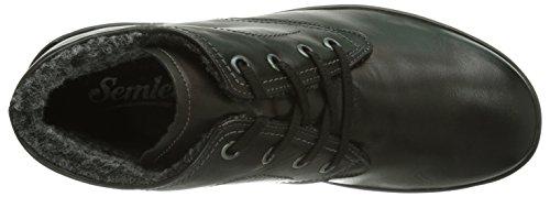 Women's 001 Semler Boots Schwarz Black Birgit and Bootees Warm Shaft Lined Short 55a1vSUq