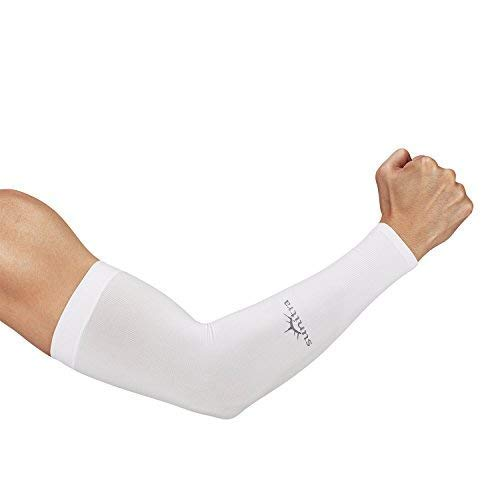 SUNITRA Arm Sleeve with UV Protection Cooling in Summer Arm Warmers in Winter Arm Sleeves for Men All Ages Arm Bike Under The Sun, Cycling Sleeves for Bikers Comfortable Sports Sleeve