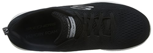 Skechers Equalizer - Double Play Mannen Mocassin Zwart / Wit