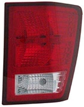 Amazon Com Go Parts For 2007 2010 Jeep Grand Cherokee Rear Tail Light Lamp Assembly Lens Cover Right Passenger Side 55079012ac Ch2801172 Replacement 2008 2009 Automotive