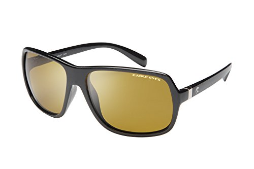 Eagle Eyes Cabriolet Polarized Sunglasses - Black Champion Style - Sunglasses Cooling Auto