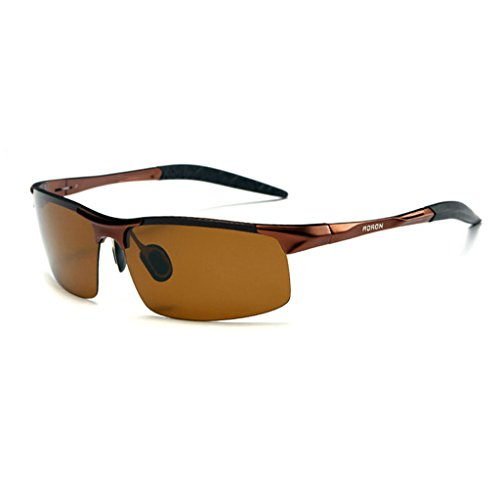 de Aleación Gafas de 5 de Colores BEI los de Conducción Espejo 4 Hombres Sol Marco de magnesio 7 Opcionales Medio Color polarizadas HT de 6wFqIXnX
