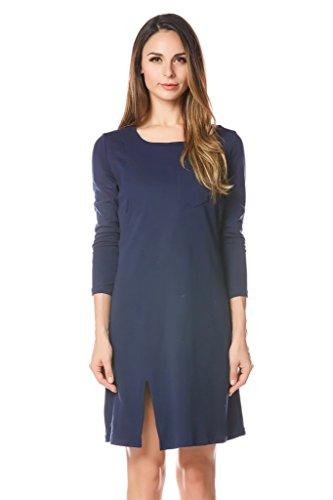 bearsland - Vestido - para mujer Azul