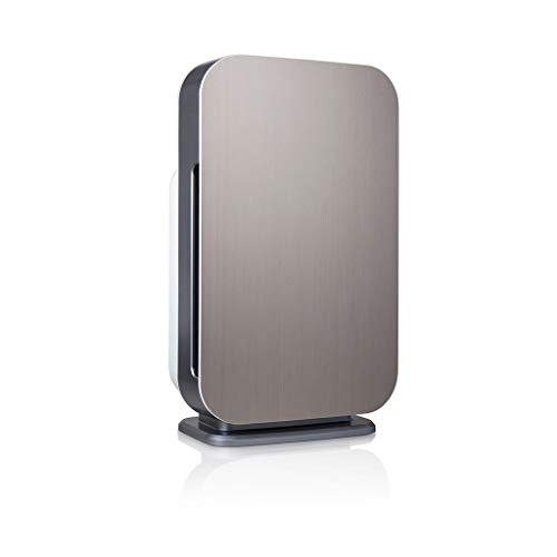 Alen BreatheSmart 45i HEPA Air Purifier with Silver Filter for Allergies, Dust, Mold and Bacteria in Brushed Stainless