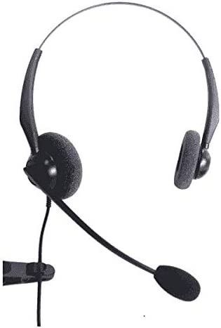Polycom Soundpoint VVX 201 Entry Level Binaural Noise Cancelling Headset