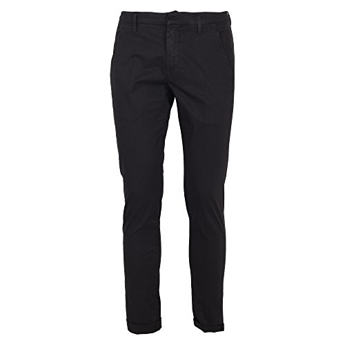 Dondup Homme UP235GS021UPTD999 Noir Coton Pantalon