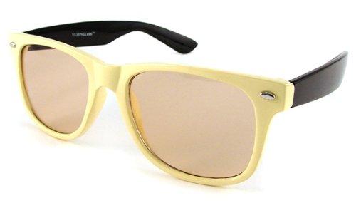 UrbanSpecs Sunglasses - Classics - Blues - Two-tone / Frame: Cream/Black Lens: Light - Urbanspecs Sunglasses