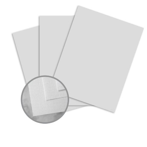 - CLASSIC Linen Antique Gray Card Stock - 18 x 12 in 100 lb Cover Linen Digital 250 per Package