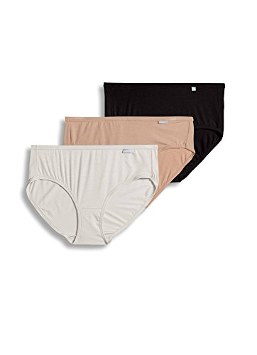 Jockey Classic Hipster - Jockey Women's Underwear Supersoft Hipster - 3 Pack, Basics, 6