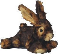 (Pet Lou 00839 Medium Plush Dog Chew Toy, 8-Inch Rabbit)