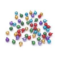 Darice Jewelry Designer 10mm Jewel Tone Aluminum Bells ()