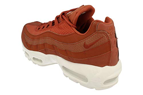 Nike Air Max 95 Premium SE Mens Running Trainers 924478 Sneakers Shoes (UK 7.5 US 8.5 EU 42, Dusty Peach White 200) by Nike (Image #1)