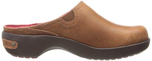 Crocs Kvinna Skomakare 2,0 Läder Täppa Kanel / Mahogny