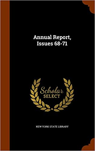 Annual Report, Issues 68-71