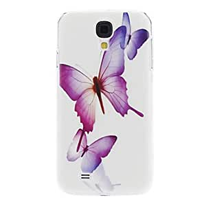 LZX Flying Butterflies Pattern for Samsung Galaxy S4 I9500