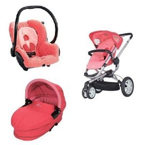 Dreami Bassinet (Quinny 2012 Buzz Stroller WITH Dreami Bassinett and Maxi-Cosi Mico Car Seat (Pink))