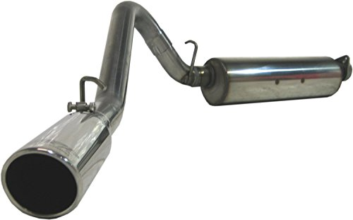 Mbrp Stainless Steel Exhaust System (MBRP S5500409 T409 Sinless Steel Single Side Cat-Back Exhaust System, T304 Stainless Tip)