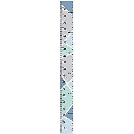 Gr/áficos De Crecimiento Ni/ños En Tela Gr/áfica De Altura Infantil Regla Tabla De Medida Colgar Pared Chytaii