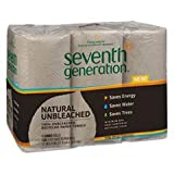 Seventh Generation Jumbo Unbleached Recycled Paper Towel Review and Comparison