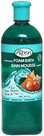 Alpen Secrets Ocean breeze 34oz. foam bath, 32 Fl Oz (Pack of 6)