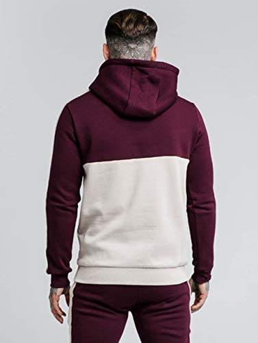 Sik Silk Hombres Sudaderas Cut and Sexy Taped Overhaed: Amazon.es ...