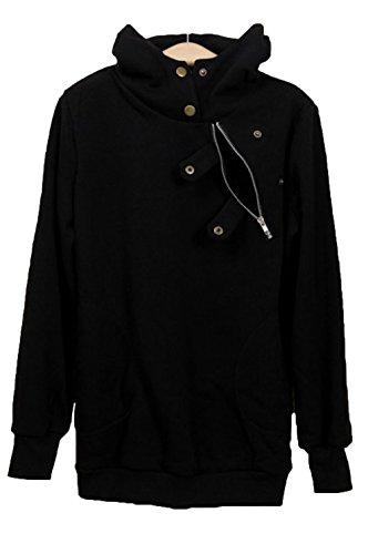 yeeatz-black-button-zip-detail-warm-pocket-hoodiesizel