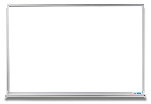EverWhite Magnetic Aluminum Framed Board with Tray, 4' Height x 6' Length - Height 6' Material