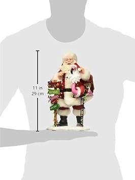 Department 56 Possible Dreams Santa Claus Flamboyance Clothtique Figurine, 10.5