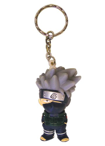 Great Eastern Entertainment Naruto Kakashi 3D Super Deform Keychain 2quot