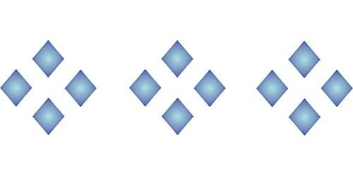 Diamond Pattern Stencil (size 7
