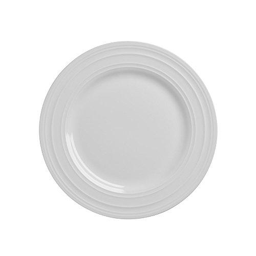 Mikasa Swirl Bone Salad Plate - White