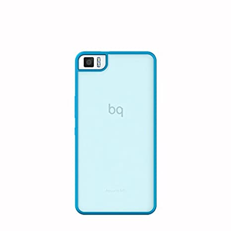 BQ Aquaris M5 Schutzhülle Gummie blau