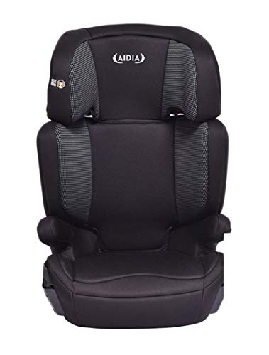 Aidia 2 in 1 Baby Car Seat, Adjustable High Back Booster Seat for Toddler w/Cup Holder, Black