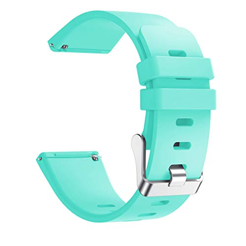 Orcbee  _Soft Silicone Strap Replacement Band Wristband for Fitbit Versa Lite (Mint Green)