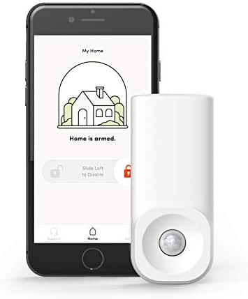 Kangaroo Home Security Motion Sensor: Instantly Alert Your Phone When Motion is Detected – Insurance Discounts – WiFi Security System for Home, Office or Any Sensitive Location – Motion Sensor