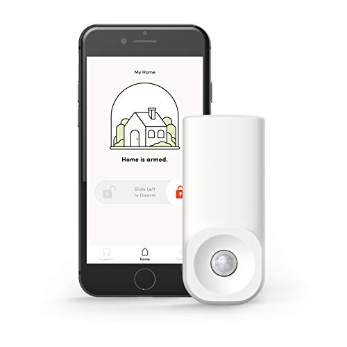 Kangaroo Home Security Motion Sensor: Instantly Alert Your Phone When Motion is Detected – Insurance Discounts – WiFi Security System for Home, Office or Any Sensitive Location – Motion Sensor by HEYKANGAROO