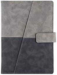 YXIAOn Notizbuch, Kreatives Minimalistisches Notizbuch, für Tagebuch Notizen Tagebuch und Plan / 100 Blatt schönes Buch, glattes Schreiben grau