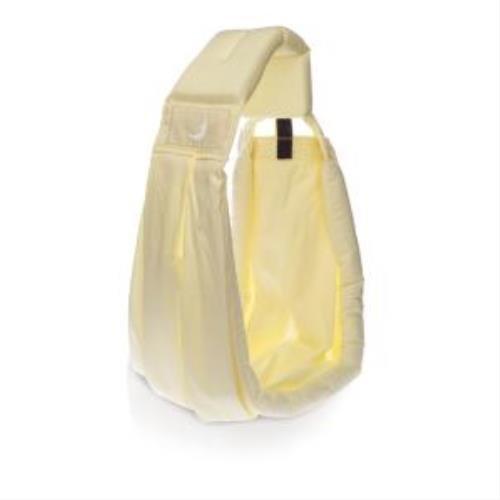Babaslings Lite Sac bandoulière porte-bébé en coton jaune clair