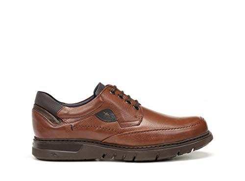 Ad Libano Cordones 208 Hombre Zapatos Plantilla F0248 Logo Fluchos Negro Color Sport Con En Piel Extraible Pieza zqpFSwp