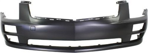 Cadillac Front Bumper - Crash Parts Plus Primed Front Bumper Cover Replacement for 2005-2007 Cadillac STS