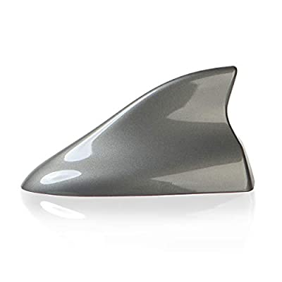 Ramble -Car Shark Fin Antenna Cover,SUV Aerials,Auto Parts Accessories,Radio Signal Antennas for Nissan Pathfinder,Rogue and Kicks (Advanced Style, Gray): Car Electronics