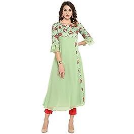 Buy Janasya Women's A-Line Kurta India 2021