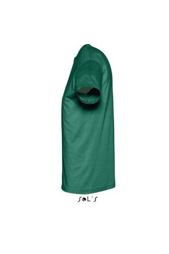 Sols - Regent - Unisex Rundhals T-Shirt , Emerald , XL