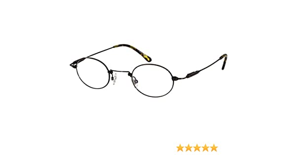 8d1b4ffc8b Amazon.com  EyeBuyExpress Reading Glasses Titanium Frames Brown Unisex Oval  Full Coverage  Beauty