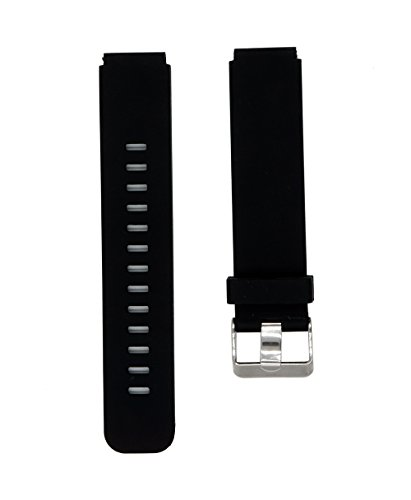Sports Silicone Watch Band Quick Release Strap For Casio 71604002 F-105 F-105W F-91 F-91W F-94 F-94W, Black Databank Sports Watch